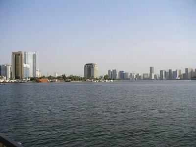 Pohled na město 2.