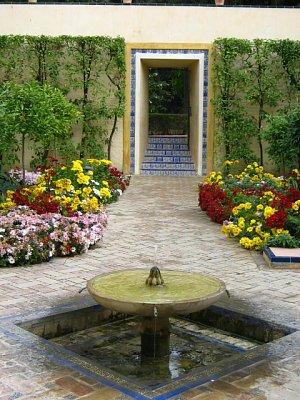 Zahrady v Reales Alcázares