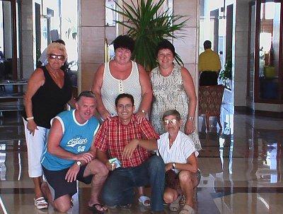 Rekreanti - Vstupní hala Palm Beach. (nahrál: pepíno)