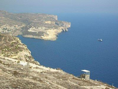 Krajina na ostrově Gozo