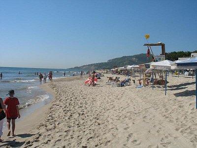 Plaz medzi Kranevom a Albenou (nahrál: peterko)