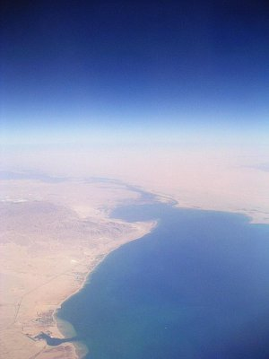 Suezský záliv a Suezský průplav (nahrál: admin)