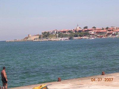 Pohled na Nessebar (nahrál: Mira)