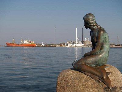 socha malé mořské víly (nahrál: admin)