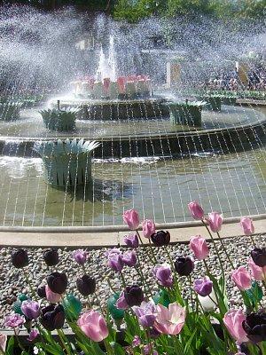 fontána v Tivoli (nahrál: admin)