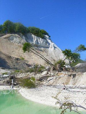 křídové skály, ostrov Mon (nahrál: admin)