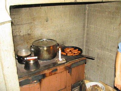 Kuchyně ve srubu (nahrál: admin)