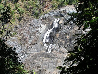 Vodopády Barron v období sucha (nahrál: admin)