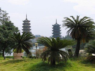Guilin - pohled na město (nahrál: admin)