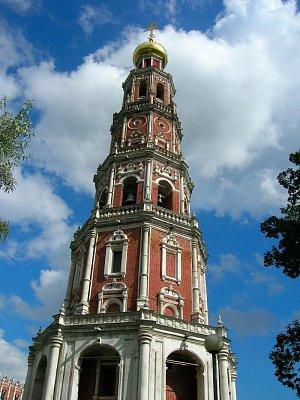 Novoděvičí klášter - detail věže (nahrál: admin)