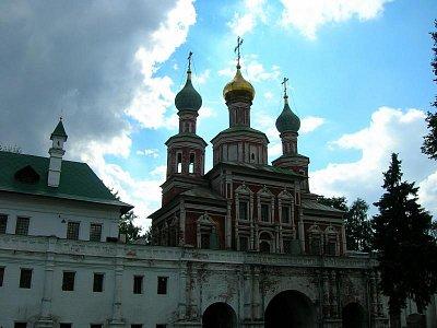 Novoděvičí klášter - největší a nejkrásnější v Moskvě (nahrál: admin)