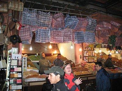 Marakéš - súk (tržnice) (nahrál: Jana Peksová)