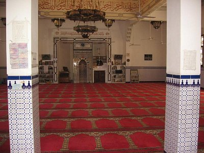 uvnitř mešity (nahrál: dagbul)