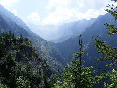 Fagaraš - pohled na pohoří (nahrál: Blažena Čepelová)
