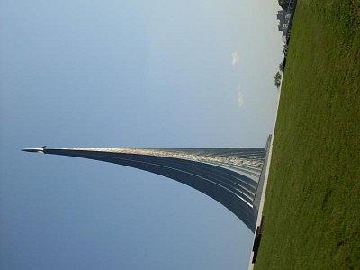 památník nad muzeem kosmonautiky (nahrál: H. Kubíková)