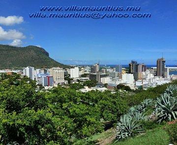 Port Louis hlavni mesto Mauritia