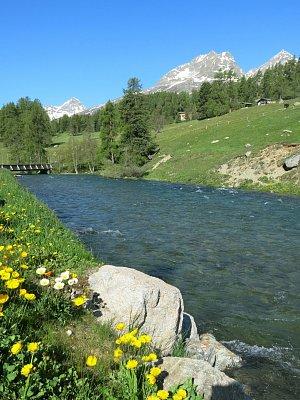 Švýcarsko a Itálie 2014