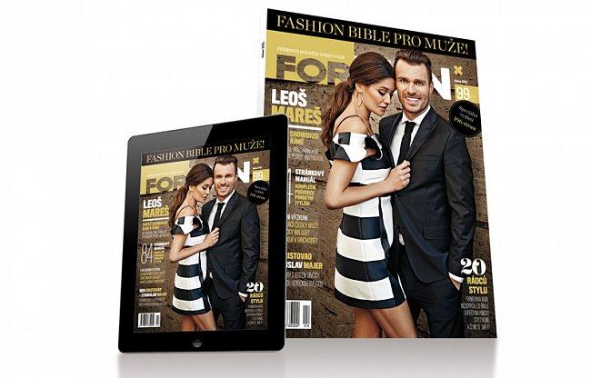 Časopis ForMen vydává Fashion Bibli pro muže
