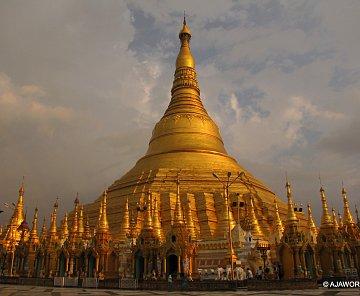 Potřetí v Barmě - YANGON