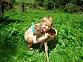 naše Adrianka velká milovnice zvířat
